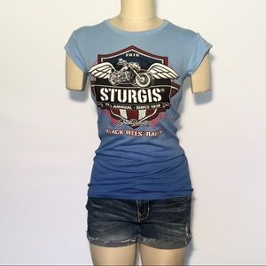 Exist Tops - NWT STURGIS Black Hills Motorcycle Rally Tee!